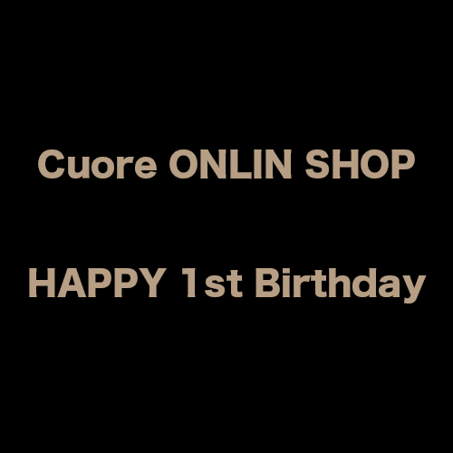 Cuore ONLIN SHOP  HAPPY 1st Birthday
